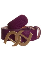 Aigner Belt Purple