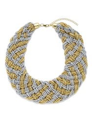 Jacques Vert Beaded Woven Necklace Multi Coloured Multi Coloured