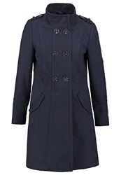 Wallis Classic Coat Navy Blue