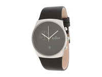 Skagen Havene Silver Black Analog Watches Gray