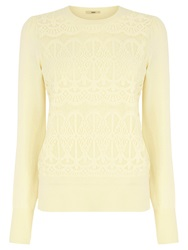 Oasis Gothic Lace Front Top Off White
