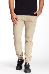 Micros Ace Twill Slim Fit Chino Jogger Beige