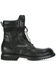 Rick Owens 'Low' Army Boots Black