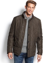 Barbour Powell Quilted Jacket Olive