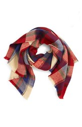 David And Young Women's Plaid Scarf