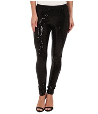 Lauren Ralph Lauren Allover Sequin Legging Black Women's Clothing