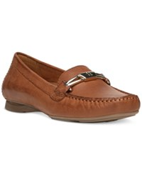 Naturalizer Saturday Moccasins Women's Shoes Saddle Tan