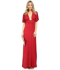 Clayton Jaelyn Dress Crimson Women's Dress Red