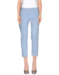 Jucca Denim Denim Trousers Women Dark Blue