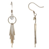 John Lewis Tassel Drop Earrings Gold