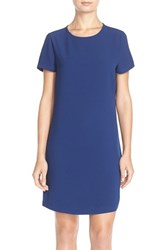 Women's Felicity And Coco Pleated Back Chiffon And Crepe Shift Dress Nordstrom Exclusive