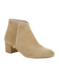 Maje Felicia Suede Ankle Boot Female Beige