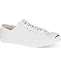 Reiss Jack Purcell Canvas Low Top Trainers White