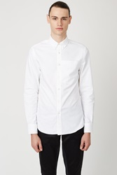 Opening Ceremony Kole Oxford Oversized Pocket Shirt White