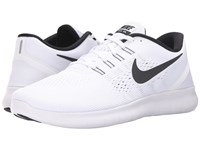 Nike Free Rn White Black Men's Running Shoes