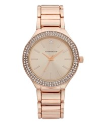 Charter Club Women's Rose Gold Tone Bracelet Watch 38Mm Only At Macy's