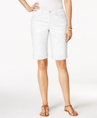 Styleandco. Style And Co. Cargo Shorts Only At Macy's Bright White