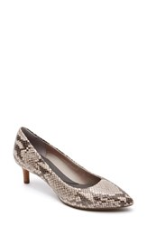 Women's Rockport 'Total Motion Kalila' Pump Roccia Python Print Leather