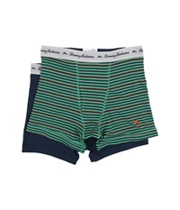 Tommy Bahama Stripe Stretch Cotton Comfort Boxer Briefs 2 Pack Tommy Green Print Neptune Men's Underwear