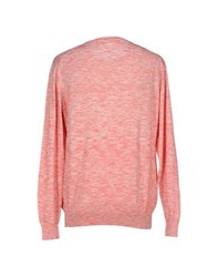Karl Lagerfeld Lagerfeld Knitwear Jumpers Men Coral