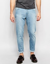 Hoxton Denim Light Wash Skinny Skinny Jean Blue