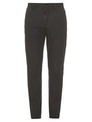 Dolce And Gabbana Slim Fit Chino Trousers Grey
