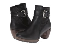 Wolky Pristina Black Mighty Dessin Women's Zip Boots