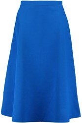 Etre Cecile Scuba Jersey Midi Skirt Royal Blue