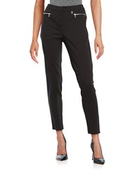 Karl Lagerfeld Zip Pocket Pants Black