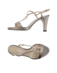 Martin Clay High Heeled Sandals Light Grey