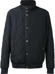 Paul And Shark Quilted Jacket Black