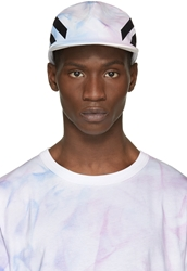 Off White Ssense Exclusive Blue And Purple Tie Dye Cap