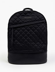Want Les Essentiels Navy Quilted Leather Kastrup' Backpack