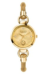 Versus By Versace Women's 'Roslyn' Mesh Strap Watch 34Mm