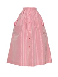 The Vampire's Wife Visiting Silk Taffeta Skirt Light Pink