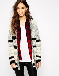 Esprit Textured Cardigan Black