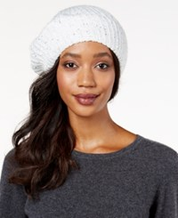 Inc International Concepts Marled Galaxy Beret Only At Macy's Ivory