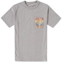 Visvim Native Blanket Pocket Tee Grey