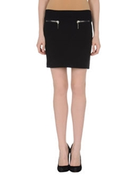 Hotel Particulier Mini Skirts Black