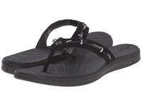 Sperry Seabrook Wave Black Patent Women's Sandals