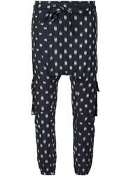 Ulla Johnson 'Army Pant' Trousers Blue