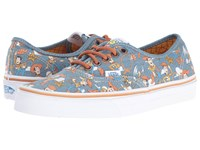 Vans Authentic X Toy Story Collection Toy Story Woody True White Skate Shoes Blue