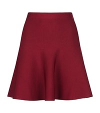 Bcbgmaxazria Skater Skirt Female Red