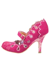 Irregular Choice Sunshine Sparkle Classic Heels Pink Rose