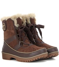 Sorel Tivolitm Ii Waterproof Suede Boots Brown