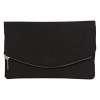 Coast Textured Clutch Bag Black