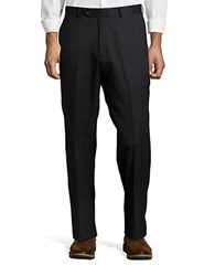 Palm Beach Sam Flat Front Suit Pant Navy