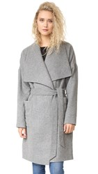 Madewell Kenmore Blanket Coat Heather Grey