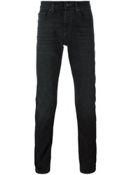 7 For All Mankind 'Chad' Slim Fit Jeans Black