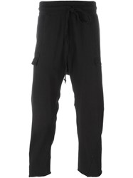 Lost And Found Rooms Cropped Track Pants Black